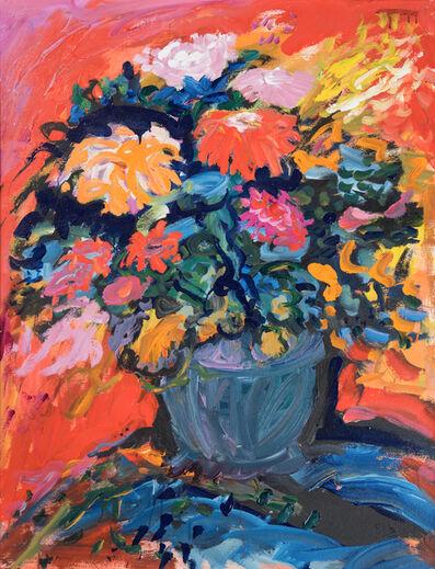Yehouda Chaki, 'Flowers  163A', ca. 1990