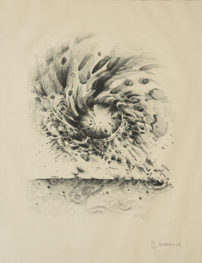 Lee Bontecou, 'Third Stone', 1963