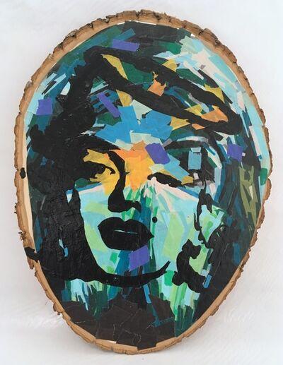 Damian Gonzales, 'Saint Marilyn', 2018