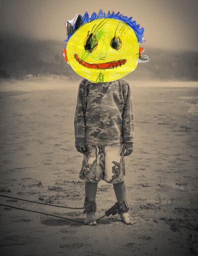 Liz Steketee, 'Nectar Collage: Beach Boy', 2014