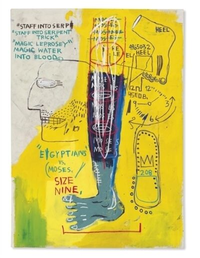 Jean-Michel Basquiat, 'Early Moses'
