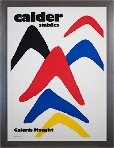 Alexander Calder, 'Stabiles', 1971