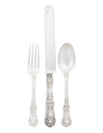 Tiffany & Company, 'Tiffany & Co. Sterling Silver Assembled Flatware', 1885-91