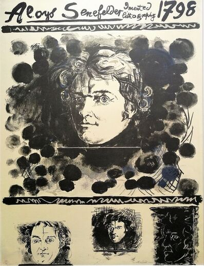 Graham Sutherland, 'Portrait of Aloys Senefelder', 1971