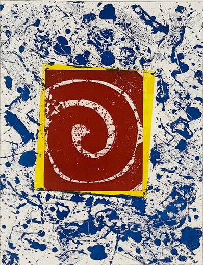 Sam Francis, ' Untitled SFE-003 (Blue, Red and Yellow)', 1982