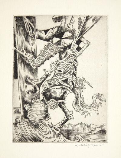 Kurt Seligmann, 'Wrested from Mirrors', 1941