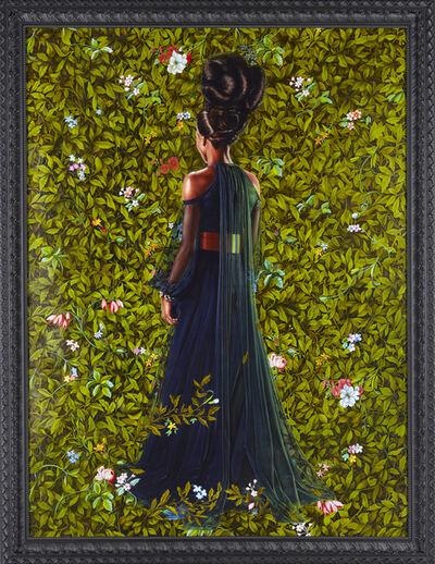 Kehinde Wiley, 'Princess Victoire of Saxe-Coburg-Gotha', 2012
