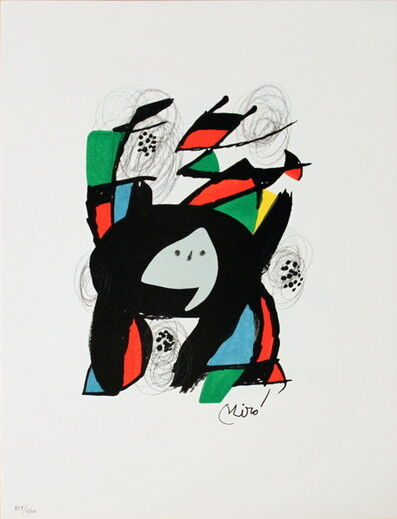 Joan Miró, 'Untitled (from La Melodie Acide XII)', 1980