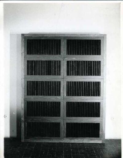 Horia Mina, 'Sarcophagus', 1988