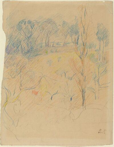 Berthe Morisot, 'Spring Landscape', ca. 1890/1891