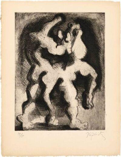 Jacques Lipchitz, 'Theseus And The Minotaur', 1943