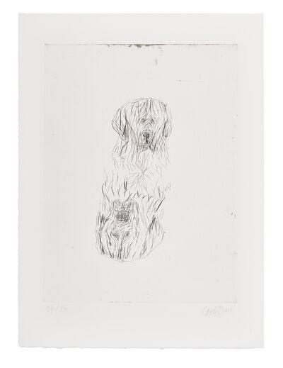 Georg Baselitz, 'Zweimal Bruno', 2000