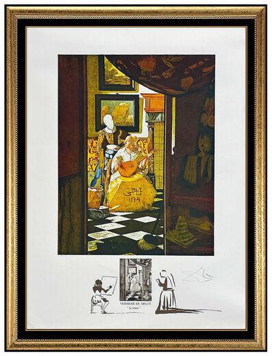 Salvador Dalí, 'Vermeer: La Lettre', 1974