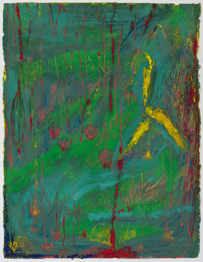 Mimi Lauter, 'Pour (green)', 2015