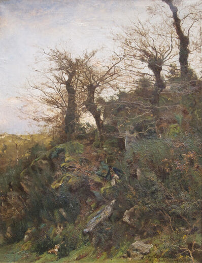 William Lamb Picknell, 'Hunting, Pont-Aven', 1887