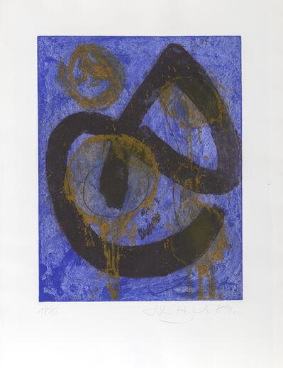 John Hoyland, 'The Sorcerer', 1989