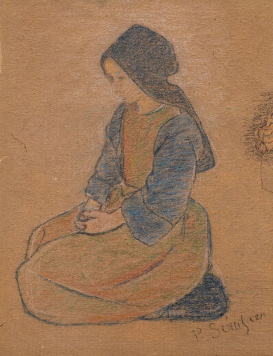 Paul Sérusier, 'Peasant Girl', After 1888