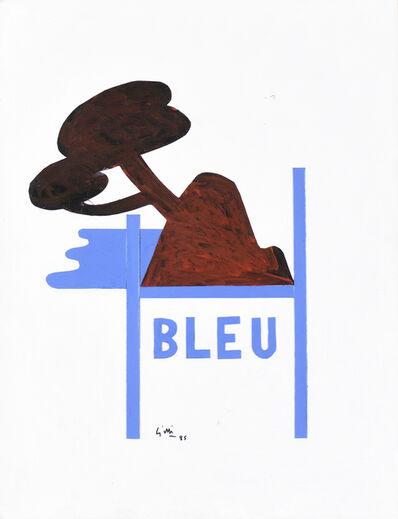 Claude Gilli, 'Bleu', 1985