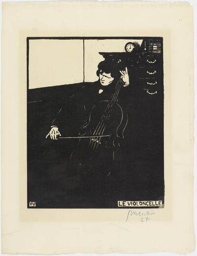 Félix Vallotton, 'Le Violoncelle', 1896