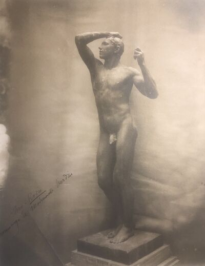 Auguste Rodin, 'The Bronze Age. Signed', ca. 1870 / 80