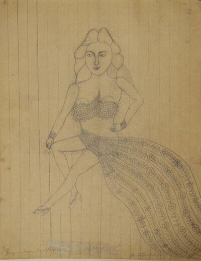 Morris Hirshfield, 'Stage Girl', 1940-1945