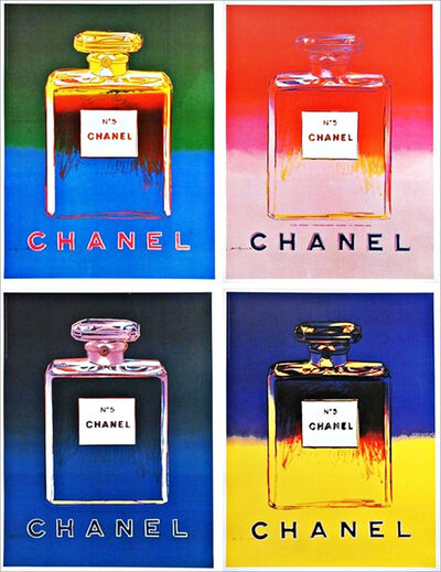 Andy Warhol, 'Chanel No. 5 (Suite of Four Prints)', 1997