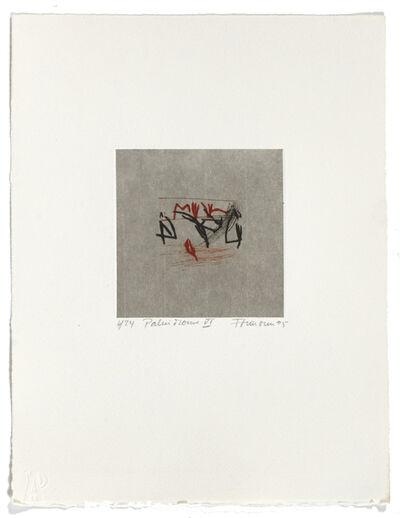 Francine Simonin, 'Palindrome 6', 1995