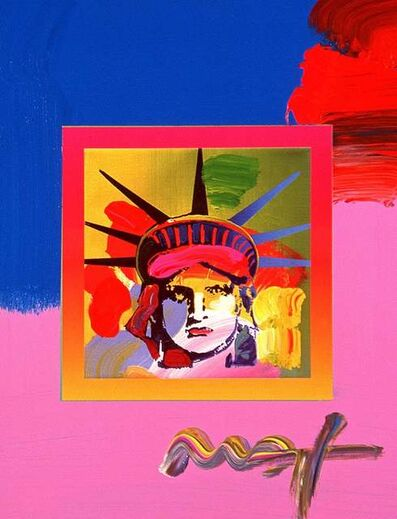 Peter Max, 'Liberty Head On Blends III', 2008