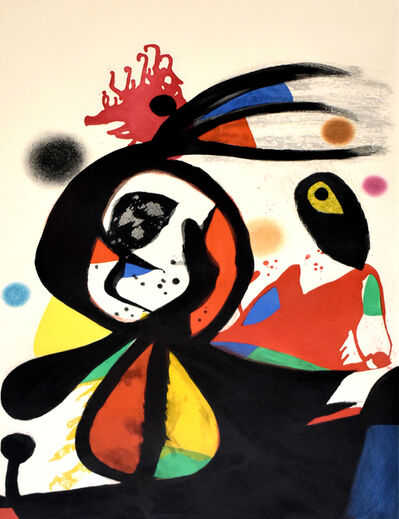 Joan Miró, ' The Red Egret | L'aigrette rouge', 1976