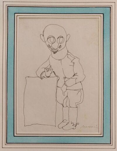 Mino Maccari, 'Portrait of D'Annunzio', 1930s
