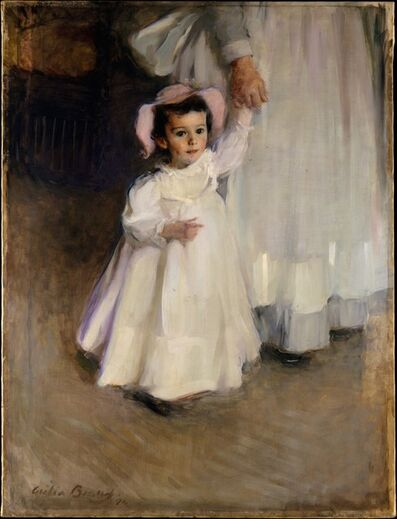 Cecilia Beaux, 'Ernesta (Child with Nurse)', 1894