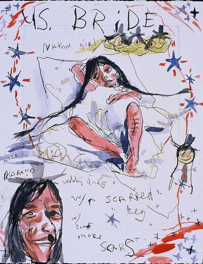Brad Kahlhamer, 'Native Girl', 2000