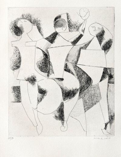 Marino Marini, 'Trio', 1954