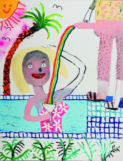 Bel Fullana, 'Mamading in the Swimming Pool', 2016