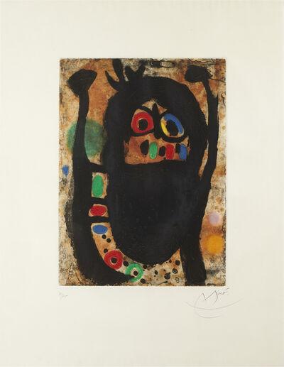 Joan Miró, 'Femme aux Bijoux', 1968