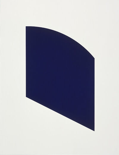 Ellsworth Kelly, 'Dark Purple', 2003