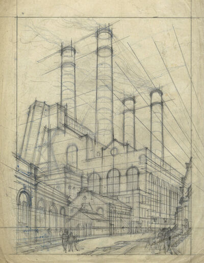 Cyril Power, 'Lots Road Power Station', ca. 1925