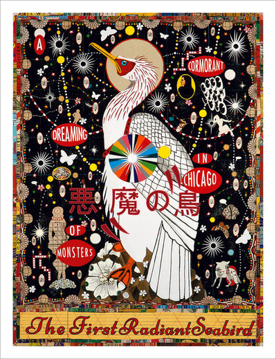 Tony Fitzpatrick, 'The First Radiant Songbird', 2016
