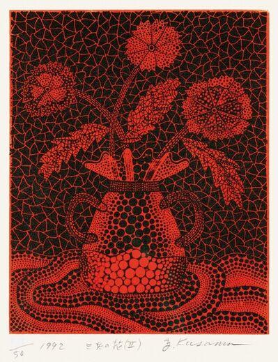 Yayoi Kusama, 'Three Flowers (II)', 1992