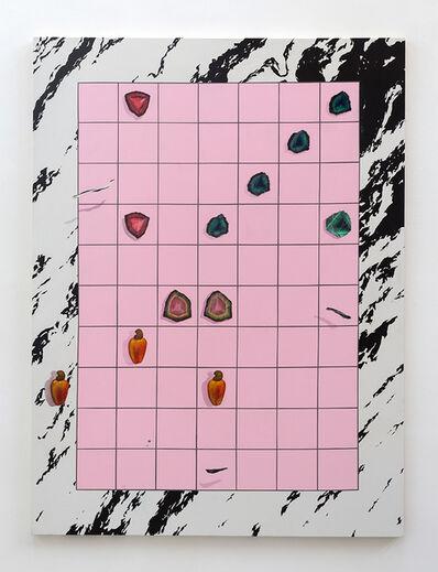 Bruno Novelli, 'Grid Com Cajus', 2017