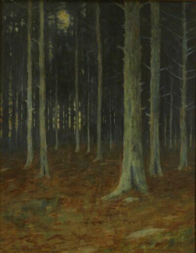 Charles Warren Eaton, 'Pines', 1905
