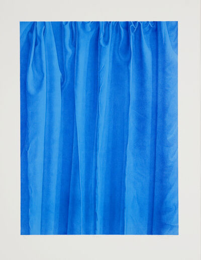 Claudio Bravo, 'Neptuno (Blue)', 1998