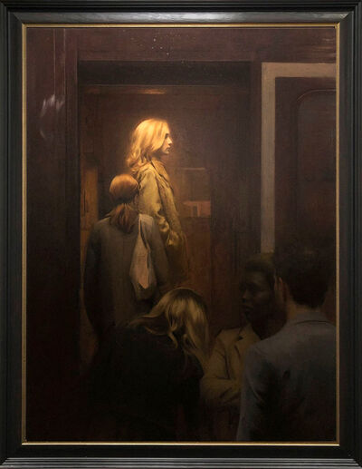 Nicholas Alm, 'Entering The Train', 2020