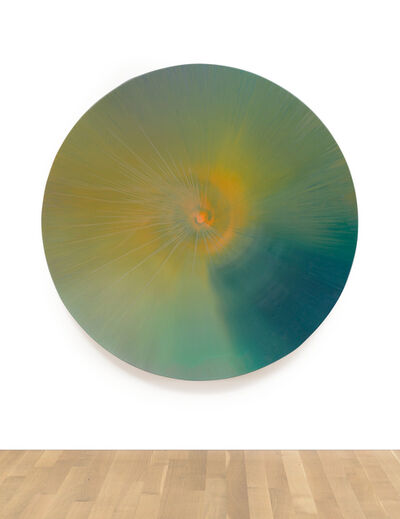 Damien Hirst, 'Beautiful Dusk in A Far Off Galaxy Painting', 2001