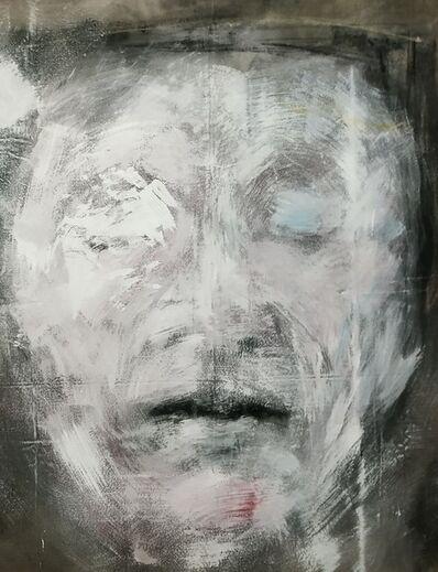 Marc Prat, 'Marc Prat: Mask in pinks and blue ', 2019