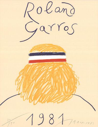 Eduardo Arroyo, 'Roland Garros', 1981