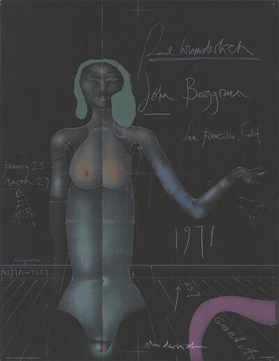 Paul Wunderlich, 'John Berggruen Gallery', 1971