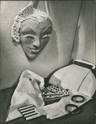 Gordon Coster, 'Still Life with Mask', Vintage 1930's Print