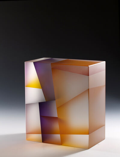 Jiyong Lee, 'Orange Purple Cuboid Segmentation', 2014