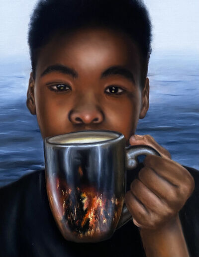 O'Neil Scott, 'Warming', 2021